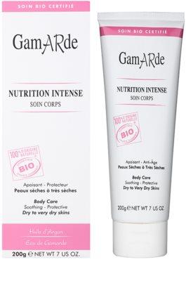Gamarde Nutrition Intense beruhigende und hydratisierende Creme für trockene und sehr trockene Haut 1