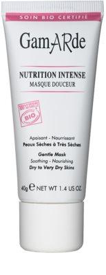 Gamarde Nutrition Intense интензивна подхранваща маска за суха или много суха кожа