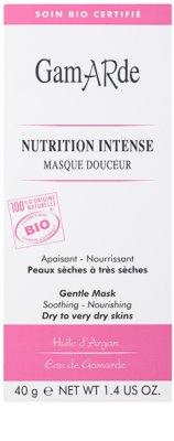 Gamarde Nutrition Intense maseczka intensywnie odżywiająca do skóry suchej i bardzo suchej 2