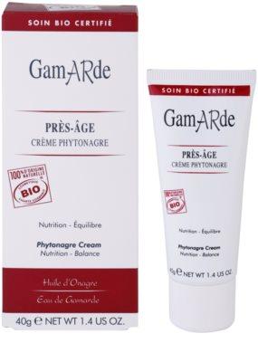Gamarde Anti-Ageing поживний крем 2