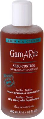 Gamarde Sebo-Control tisztító víz az aknéra hajlamos zsíros bőrre