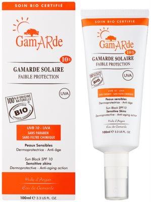 Gamarde Sun Care spray protector para rostro y cuerpo SPF 10 1