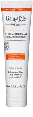 Gamarde Sun Care fluído de autobronzeamento para o rosto e corpo