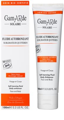 Gamarde Sun Care fluído de autobronzeamento para o rosto e corpo 1