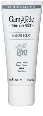 Gamarde White Effect tisztító maszk az élénk bőrért