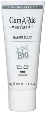 Gamarde White Effect очищаюча маска для сяючої шкіри