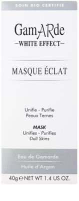 Gamarde White Effect čistilna maska za osvetlitev kože 2