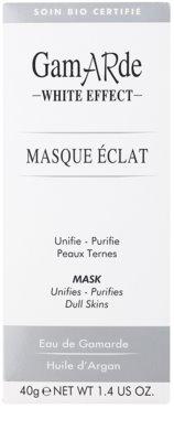 Gamarde White Effect очищаюча маска для сяючої шкіри 2