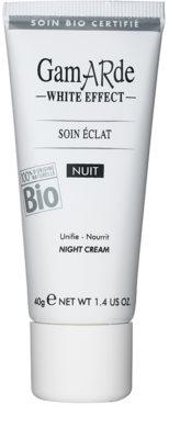 Gamarde White Effect crema de noapte pentru o piele mai luminoasa