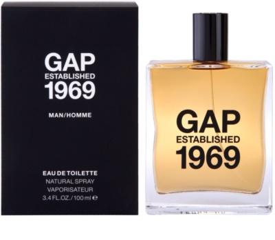 Gap Gap Established 1969 for Men eau de toilette férfiaknak