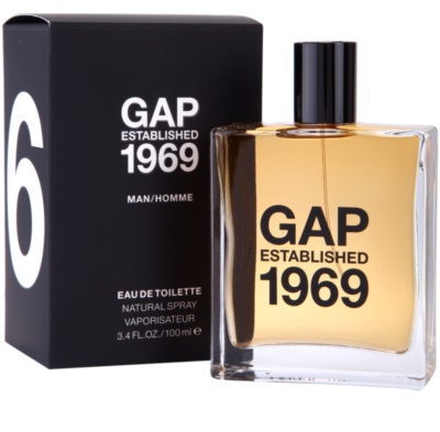 Gap Gap Established 1969 for Men Eau de Toilette für Herren 1