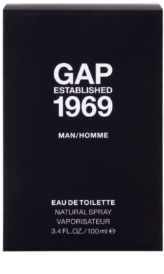 Gap Gap Established 1969 for Men eau de toilette para hombre 4