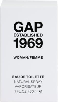 Gap Gap Established 1969 for Woman Eau de Toilette für Damen 1