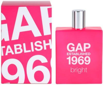 Gap Gap Established 1969 Bright Eau de Toilette para mulheres