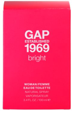 Gap Gap Established 1969 Bright Eau de Toilette pentru femei 7