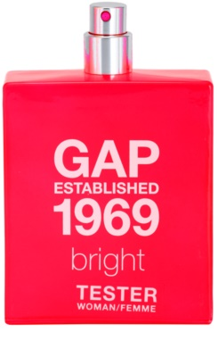 Gap Gap Established 1969 Bright eau de toilette teszter nőknek