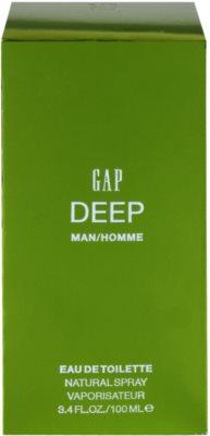 Gap Deep Men Eau de Toilette para homens 4