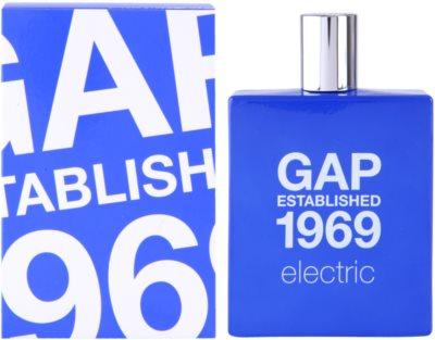 Gap Gap Established 1969 Electric Eau de Toilette für Herren