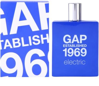 Gap Gap Established 1969 Electric Eau de Toilette para homens