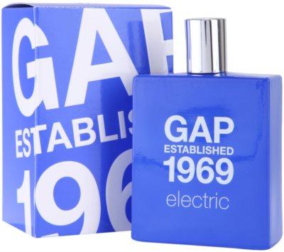 Gap Gap Established 1969 Electric Eau de Toilette para homens 1