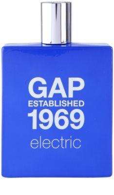 Gap Gap Established 1969 Electric Eau de Toilette para homens 2