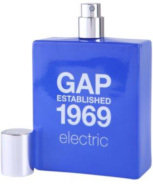 Gap Gap Established 1969 Electric Eau de Toilette para homens 3