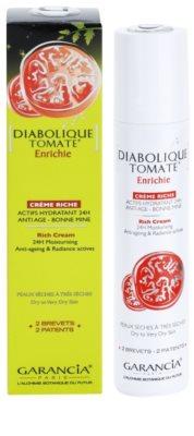 Garancia Diabolique Tomate crema hidratante y nutritiva para pieles secas y muy secas 2