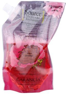 Garancia Enchanted Micellar Water Rose čistilna voda za obraz in oči nadomestno polnilo