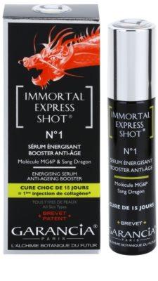 Garancia Immortal Express Shot energizáló szérum a bőröregedés ellen 2