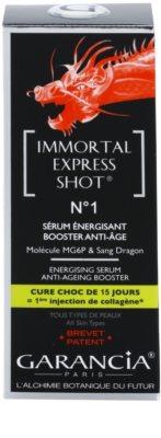 Garancia Immortal Express Shot energizáló szérum a bőröregedés ellen 3