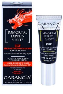 Garancia Immortal Express Shot sérum ativo anti-idade de pele 1