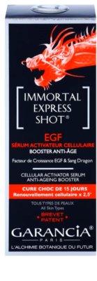 Garancia Immortal Express Shot aktív szérum a bőröregedés ellen 2