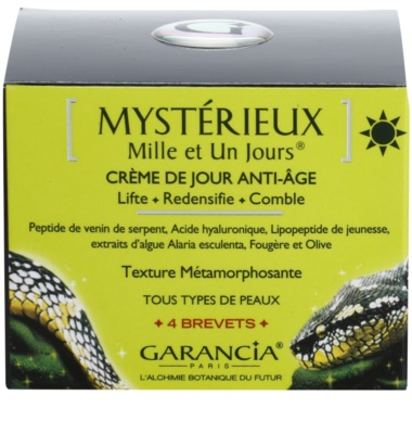 Garancia Mysterious денний крем ліфтинг проти старіння шкіри 3