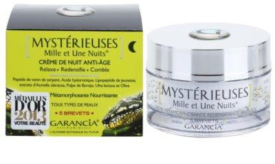 Garancia Mysterious crema de noapte împotriva tuturor semnelor de imbatranire 2