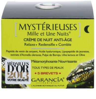 Garancia Mysterious crema de noapte împotriva tuturor semnelor de imbatranire 3