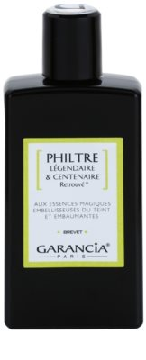 Garancia Rediscovered Legendary and Centennial Lotion serum iluminador y embellecedor