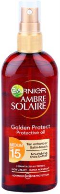 Garnier Ambre Solaire Golden Protect ulei pentru plaja SPF 15