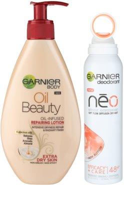 Garnier Caring Beauty zestaw kosmetyków I.