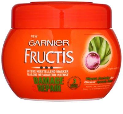 Garnier Fructis Damage Repair erősítő maszk nagyon sérült hajra