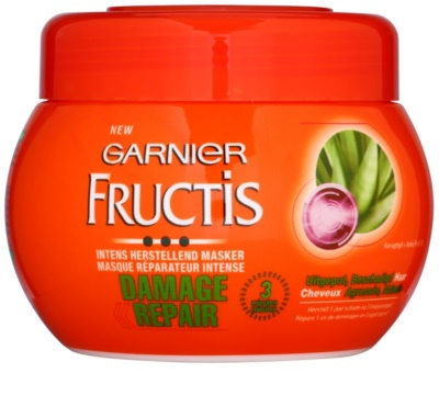 Garnier Fructis Damage Repair stärkende Maske für stark geschädigtes Haar