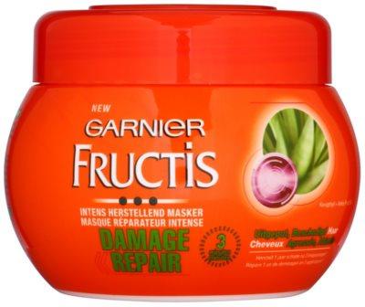 Garnier Fructis Damage Repair зміцнююча маска для дуже пошкодженого волосся