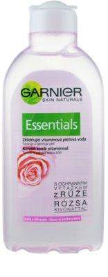 Garnier Essentials тонізуюча вода для обличчя для сухої шкіри