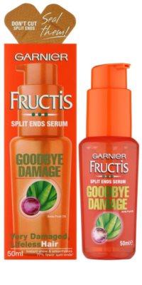 Garnier Fructis Goodbye Damage Ser pentru vârfuri despicate 1