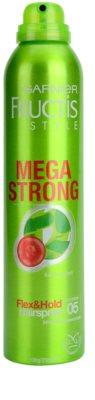 Garnier Fructis Style Mega Strong lak na vlasy s výtažkem z bambusu 1