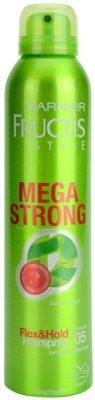 Garnier Fructis Style Mega Strong hajlakk bambusz kivonattal