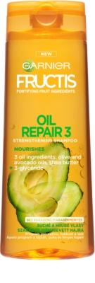 Garnier Fructis Oil Repair 3 stärkendes Shampoo für trockenes und beschädigtes Haar