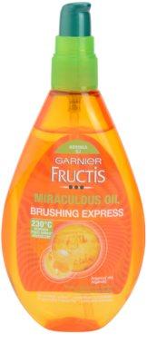 Garnier Fructis Miraculous Oil schützendes Öl für thermische Umformung von Haaren 1
