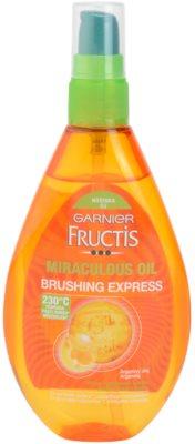 Garnier Fructis Miraculous Oil védő olaj a hajformázáshoz, melyhez magas hőfokot használunk