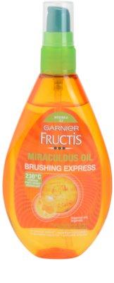 Garnier Fructis Miraculous Oil захисна олійка термозахист для волосся