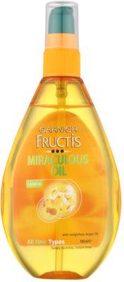 Garnier Fructis Miraculous Oil odżywczy olejek do wszystkich rodzajów włosów